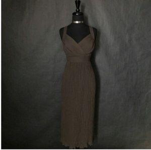 WHITE HOUSE BLACK MARKET Maxi Party Dress(Sz L)
